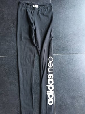 Schwarze Leggings von Adidas NEO
