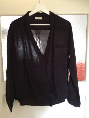 Schwarze, leichte Bluse