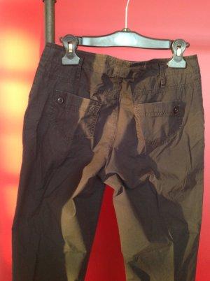 Schwarze Leichte Hose von United Colors of Benetton, Grösse 36.