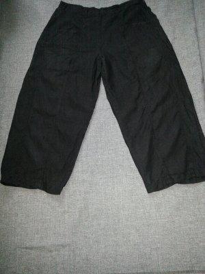 Backstage Pantalón de lino negro