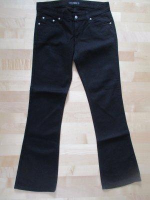 Schwarze Levis Jeans 524