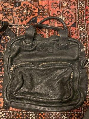Schwarze Liebeskind Berlin Tasche Leder