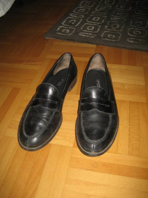 schwarze Loafer von Paul Green Gr. 39,5