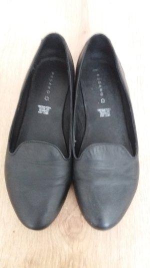 schwarze Loafer von Pesaro
