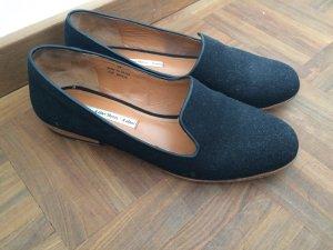 Schwarze Loafers - Größe 39