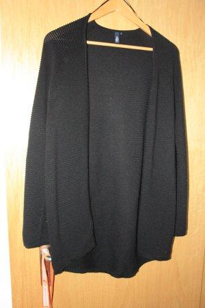 Schwarze lockere Strickjacke von s.Oliver
