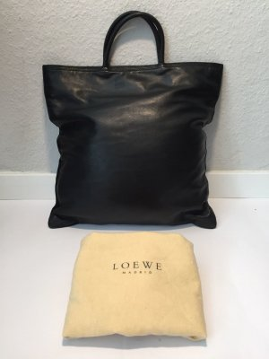 Schwarze LOEWE Henkeltasche aus Leder