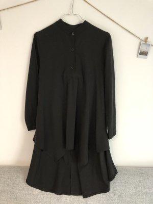 Schwarze Long Bluse
