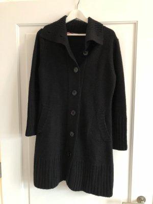 Suzanna Gebreide jas zwart