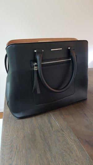 Schwarze Mango Tasche