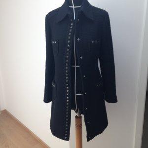Schwarze Mantel von Moschino
