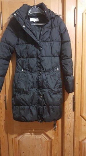 schwarze mantel von vila xs