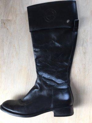 Schwarze Marco Polo Stiefel