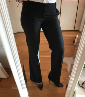 Zara Basic Marlene Trousers black mixture fibre