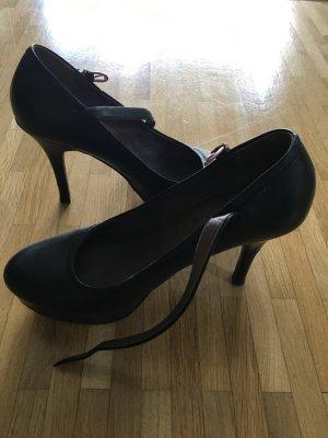 Tamaris Mary Jane pumps zwart