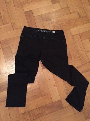 Schwarze Mavi-Jeans Lindy, Größe 28/32, skinny leg, low rise