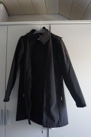 Schwarze McKinley Softshelljacke regenabweisend in super Zustand!
