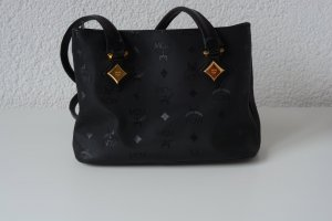 Schwarze MCM Vintage Tasche