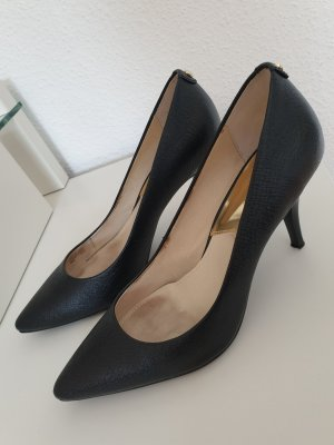Schwarze Michael Kors Flex Mid Pumps