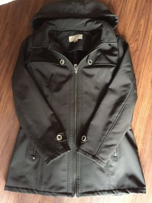 Michael Kors Softshell Jacket black-silver-colored