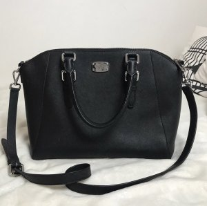 Michael Kors Carry Bag black-silver-colored