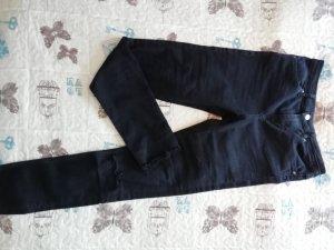 H&M Divided Hoge taille jeans zwart-zilver