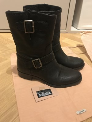 Schwarze MIU MIU (PRADA) Boots, NEU, Gr. 36,5
