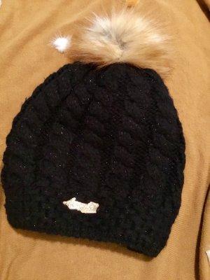 Chapeau en tricot multicolore