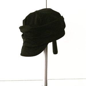 Vintage Cappello con visiera nero