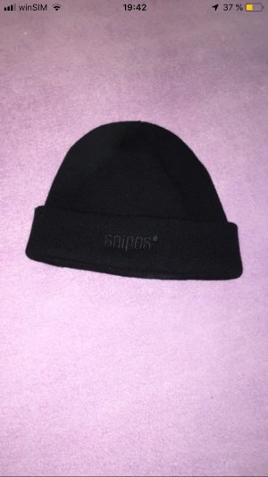 Snipes Beanie black-white