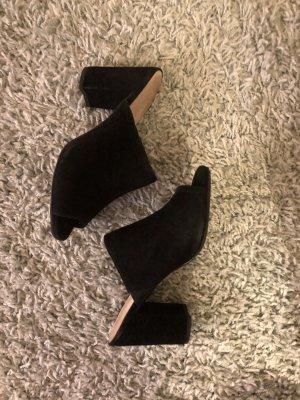 5th Avenue Heel Pantolettes black