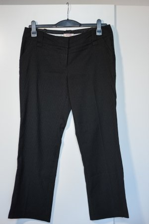 Orsay Jersey Pants black-white