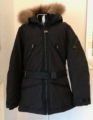 Schwarze Napapijri Ski/Winterjacke mit Kapuze