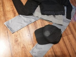 Gorra de béisbol negro