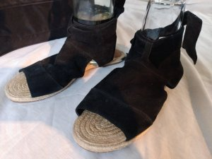 Roman Sandals black-light brown suede