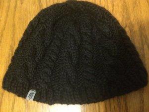 schwarze North Face Mütze, wenig getragen, Fleece innen