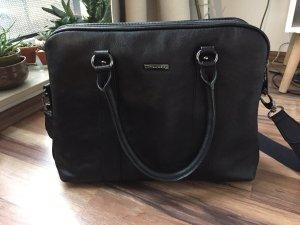 Schwarze Notebooktasche von Belmondo
