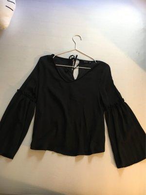 Bershka Camisa negro