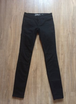 Schwarze Only Skinny Jeans Push-Up
