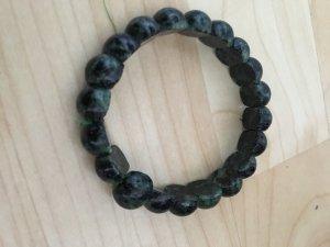 Schwarze Onyx steine Armband