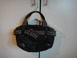 Schwarze original Fendi Bowlingtasche (Vintage)