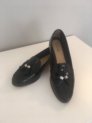 Michael Kors Patent Leather Ballerinas black