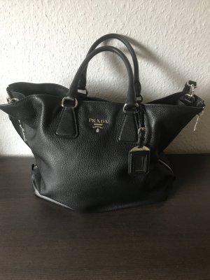 Prada Shopper noir cuir