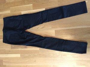 Schwarze Party Glitzer Jeans