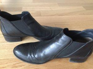 Paul Green Chaussures basses noir cuir
