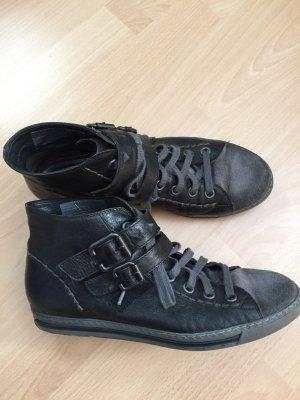 Schwarze Paul Green Schuhe in Größe 6 1/2
