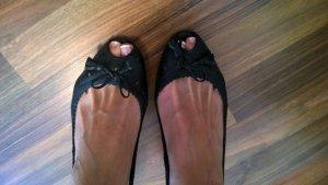 Schwarze Peeptoes von Kämpgen, Größe 41