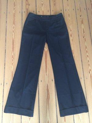 Schwarze Pepe Jeans Bundfaltenhose Gr. 27