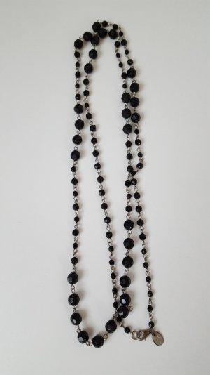 schwarze Perlenkette von s.Oliver