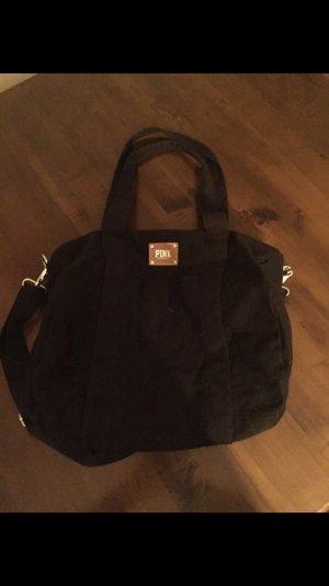 schwarze PINK Victoria's Secret Blogger Sporttasche